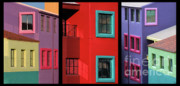 Brilliant Color Prints - The Colors of Tucson II Print by Sandra Bronstein