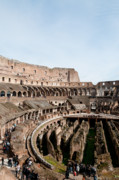 Gladiator Framed Prints - The Colosseum P Framed Print by Andy Smy
