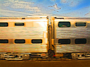 Rail Digital Art - The Commute is a Beaut by Geoff Strehlow