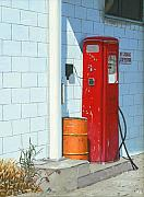 Retro Paintings - The Company Pump by Michael Ward