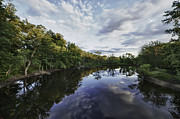 Concord Framed Prints - The Concord River Framed Print by Kate Hannon
