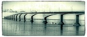 Span Prints - The Confederation Bridge PEI Print by Edward Fielding