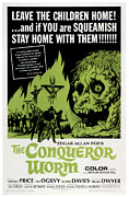 Horror Movies Posters - The Conqueror Worm, Aka Witchfinder Poster by Everett