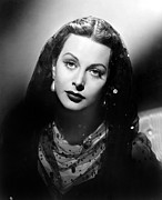 Hedy Framed Prints - The Conspirators, Hedy Lamarr, 1944 Framed Print by Everett