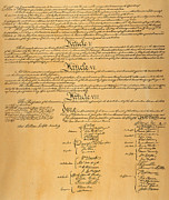 Constitutional Convention Framed Prints - The Constitution, 1787 Framed Print by Granger