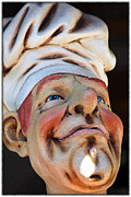 Statue Portrait Photo Prints - The Cook Print by Sophie Vigneault
