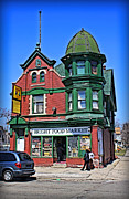 Grocery Store Prints - The Corner Store Print by Geoff Strehlow