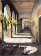 The Corridor 2 Print by Sam Sidders
