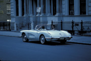 The Corvette Print by Marc Bittan