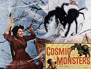 Horror Movies Framed Prints - The Cosmic Monster, Aka Cosmic Framed Print by Everett