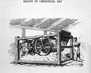 Cotton Gin Posters - The Cotton Gin Poster by Photo Researchers