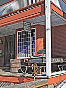 Country Store Metal Prints - The Country Store Metal Print by Linda Pulvermacher