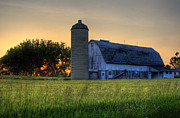 Fox River Mills - The Country Sunset by Joel Witmeyer