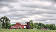 Barn Storm Prints - The County Line Print by JC Findley
