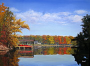 Lake Wylie Prints - The Cove Print by Shirley Braithwaite Hunt