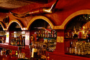 Booze Prints - The Cowboy Club Bar in Sedona Arizona Print by David Patterson