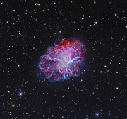 Crab Nebula Framed Prints - The Crab Nebula Framed Print by Robert Gendler