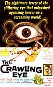 1950s Movies Prints - The Crawling Eye, Forrest Tucker Right Print by Everett