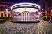 Whirligig Photos - The Crazy Carousel by Alessandro Matarazzo