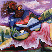 By Women Paintings - The Creation Song by Shiloh Sophia McCloud