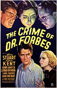 Forbes Prints - The Crime Of Dr. Forbes, Robert Kent Print by Everett
