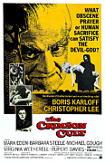 1968 Movies Posters - The Crimson Cult, Aka The Crimson Altar Poster by Everett