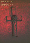 Crucifixtion  Posters - The Cross Poster by Barbara Stirrup