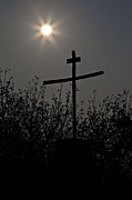 Religious Photo Posters - The Cross Poster by Joana Kruse