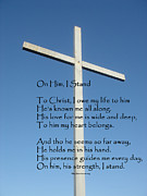 Praise Art - The Cross by MaryJane Armstrong