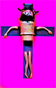 Jesus Digital Art Originals - The Crucifixion by Ricky Sencion
