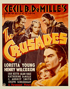 1935 Movies Prints - The Crusades, Joseph Schildkraut Print by Everett