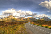 Skye Photos - The Cuillin Mountains of Skye by Chris Thaxter