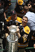 Boston Bruins Prints - The Cup Print by Greg DeBeck