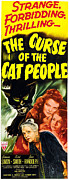 Insert Poster Framed Prints - The Curse Of The Cat People, Clockwise Framed Print by Everett