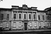 The Clyde Glasgow Prints - The Custom House Building Clyde Street Glasgow Scotland Uk Print by Joe Fox