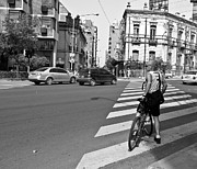 Cycling Originals - The Cyclist by Nelieta Mishchenko