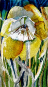 Easter Flowers Framed Prints - The Daffodil Framed Print by Mindy Newman