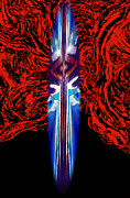 Vector Space Photos - The Dagger Surreal Digital Art by ImagesAsArt Photos And Graphics