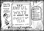Book Title Originals - The Daily Dose Sweet 16 Occupy Laughter Book You Never Read cartoon by Yasha Harari