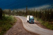 Haul Road Framed Prints - The Dalton Highway Framed Print by Gary Rose