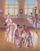 Ballet Art - The Dance Class by Patrick Anthony Pierson