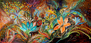 Birkat Cohanim Prints - The Dance of Lizards Print by Elena Kotliarker