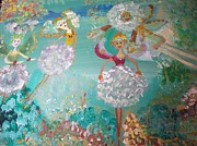 Fairies Originals - The Dandelion Fairies by Judith Desrosiers