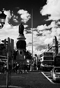 Daniel Photo Prints - The Daniel Oconnell Memorial Statue Dublin City Centre Ireland  Print by Joe Fox