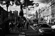 Daniel Prints - The Daniel Oconnell Memorial Statue Dublin City Centre Republic Of Ireland Print by Joe Fox