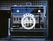 2000s Framed Prints - The Darkroom Store, Built Of Black Framed Print by Everett