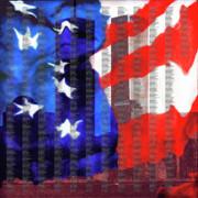 Twin Towers Trade Center Digital Art Originals - The day my neighbors died by Paul Tokarski