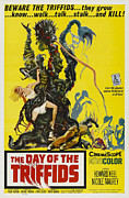 1963 Movies Prints - The Day Of The Triffids, 1963 Print by Everett