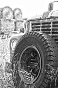 Wildlife Framed Prints Framed Prints - The Dead Work Truck Framed Print by Jerry Cordeiro