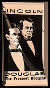 Abraham Lincoln Prints - The Debaters Print by David Bearden